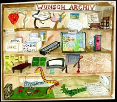 Akvarel arhiva želja, Christoph Schäfer, 1996.